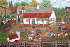 június 4. Mándoki Halász Zsóka naív festő kiállítása