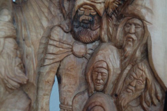 június 14. Beretvás Csanád szobrászművész és Molnár Attila intarzia készítő kiállítása
