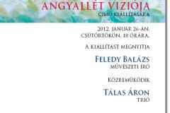 Vincze Angéla festőművész kiállítása