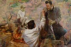 április 2. Hartung Sándor festőművész kiállítása