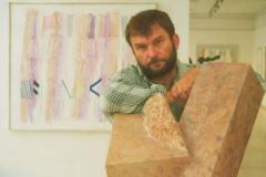 június 1. Vizsolyi János szobrászművész tárlata