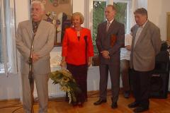 szeptember 19. Bartl József Munkácsy-díjas festőművész kiállítása 70. születésnapja alkalmából. Ötéves a Galéria'13.