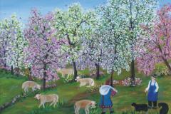 május 29. 17 óra Mándoki Halász Zsóka naív festő Tisztelet a múltnak című kiállítása