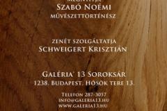 Majoros Áron Zsolt szobrászművész kiállítás