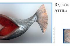 Rajcsók Attila szobrászművész kiállítása