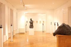 Erős Apolka szobrászművész kiállítása 2013
